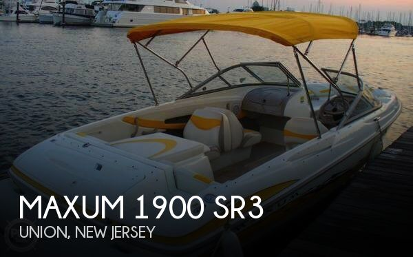 Maxum 1900 SR3 2005 Maxum 1900 SR3 for sale in Union,, NJ
