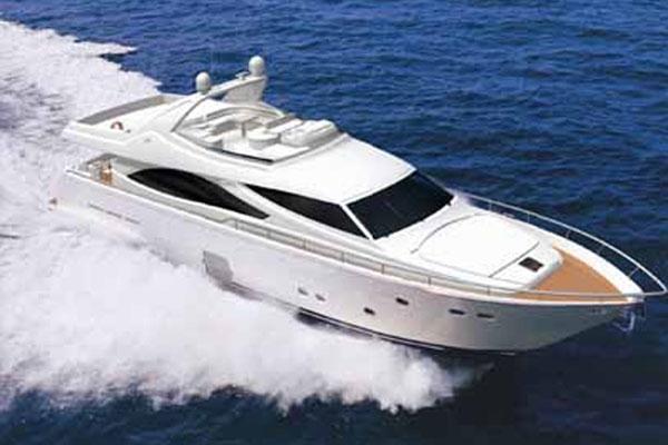 Ferretti Yachts 830 Sailing 1