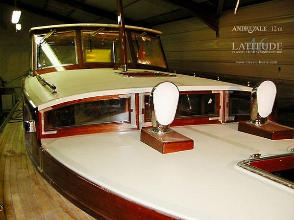 Latitude 46 Andreyale 12m Front View