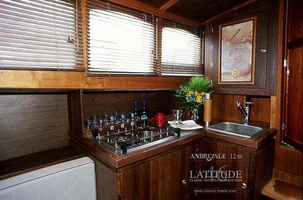 Latitude 46 Andreyale 12m Galley