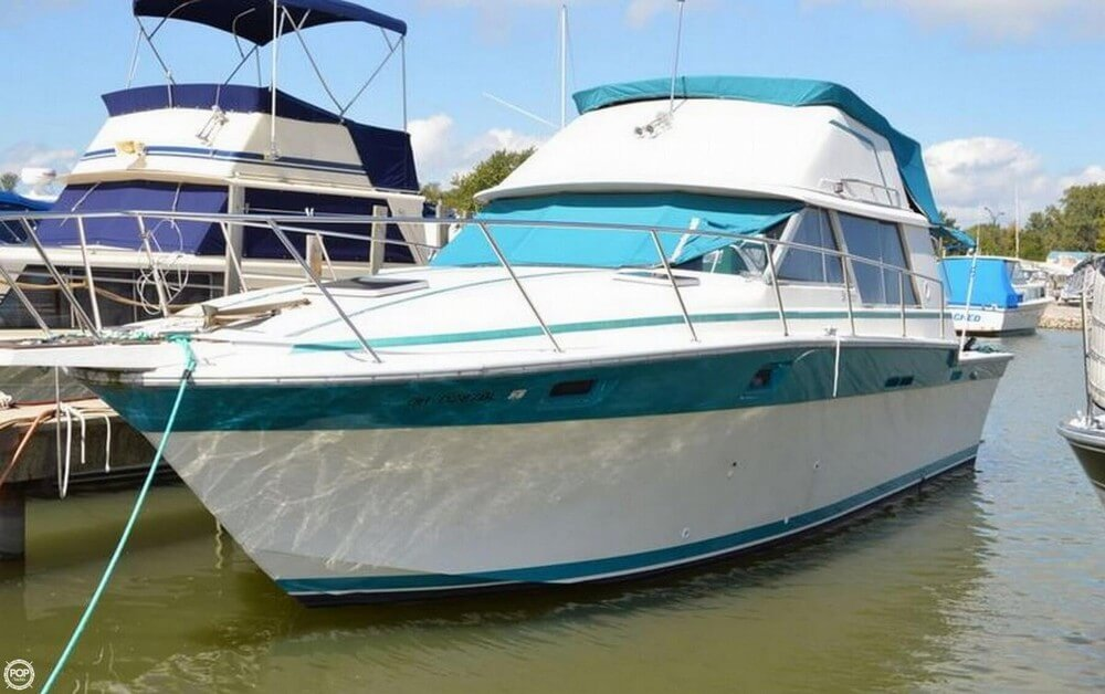Silver Wave 34 Convertible 1986 Silverton 34 Convertible for sale in Port Clinton, OH