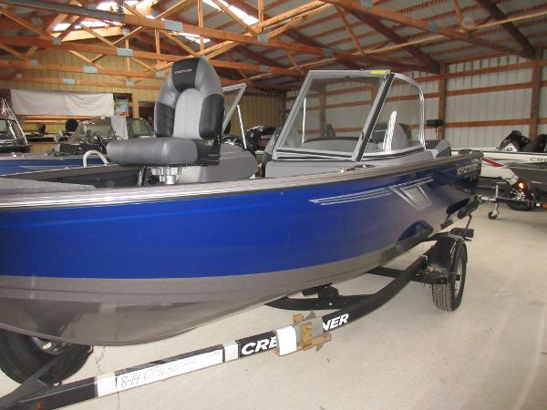 Crestliner 1650 Fish Hawk WT SE