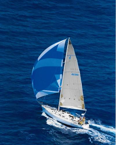 J Boats J/46 Andiamo 2015 Transpac Finish Line