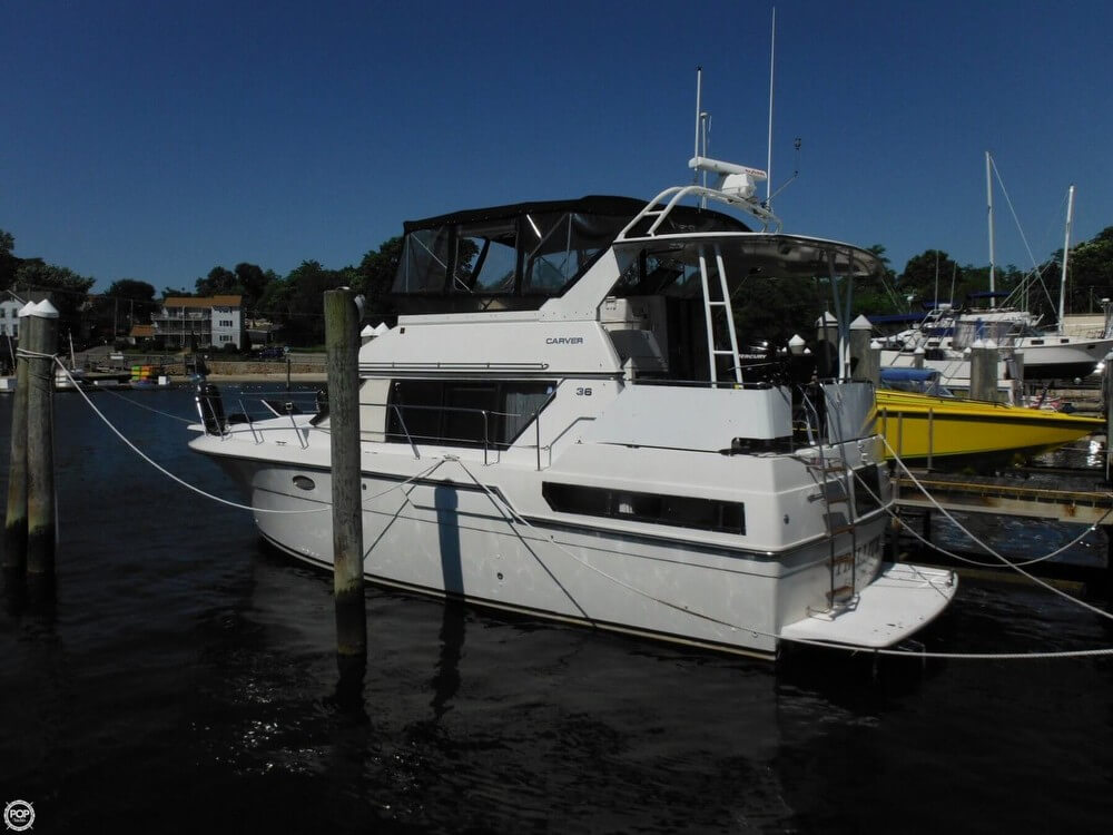 Carver 36 Aft Cabin Motoryacht 1991 Carver 36 Aft Cabin for sale in New London, CT