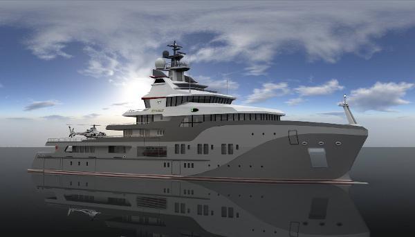 Superyacht Frontier 85m