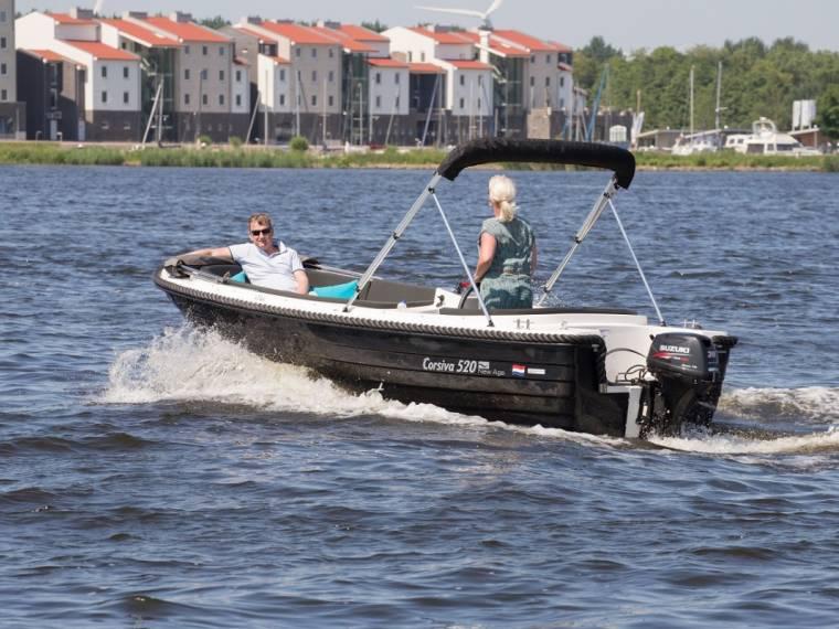 Corsiva 520 sloep met Suzuki 30 Pk Corsiva 520 sloep met Suzuki 30 Pk Vele extra`s