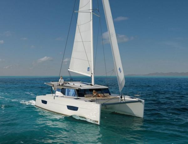 Fountaine Pajot Lucia 40 Manufacturer Provided Image: Fountaine Pajot Lucia 40 Sailing