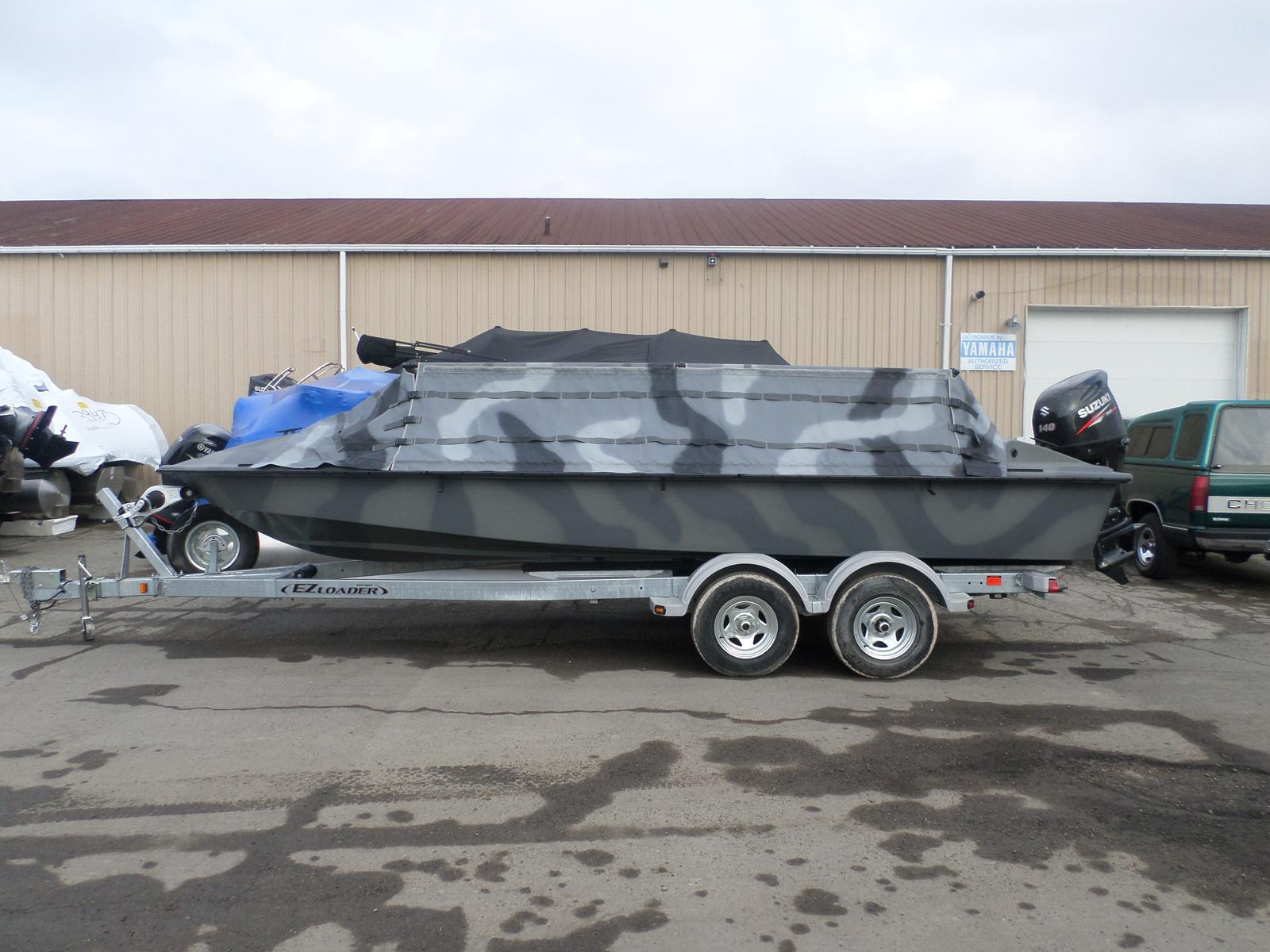 Bankes 21' Goliath Duck Boat