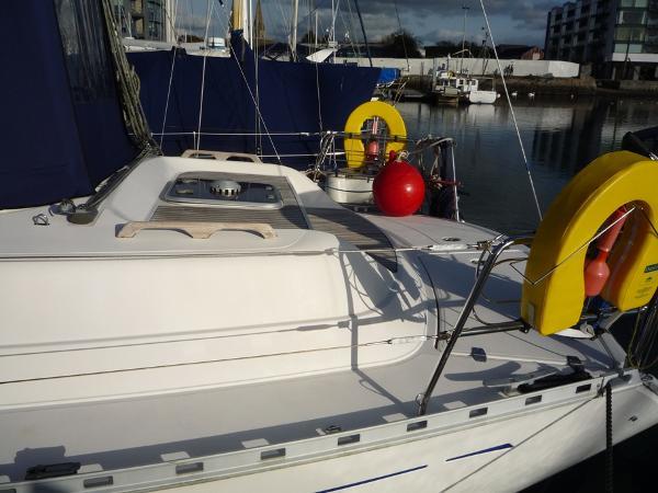Dufour 39 CC for sale - Aft deck