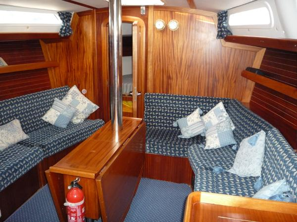 Dufour 39 CC for sale - Saloon looking forward