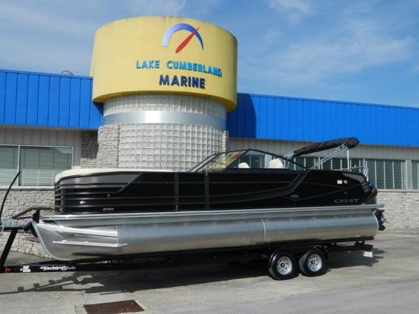 Crest Pontoon Boats Continental 250 CS