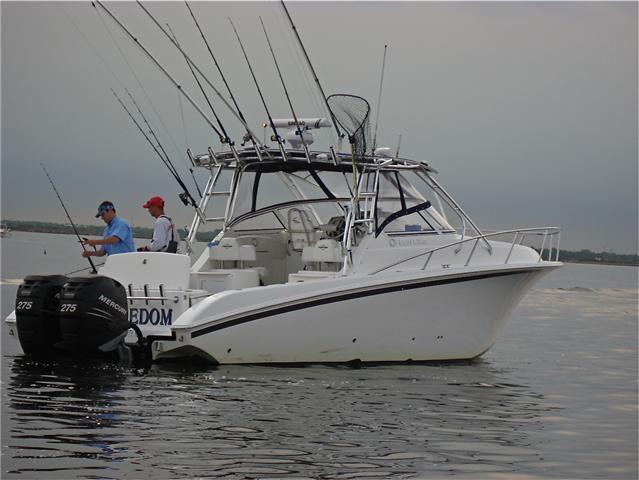 Fountain 33 SFC Sportfish Cruiser