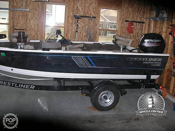Crestliner 1750 Fish Hawk 2016 Crestliner 1750 FISH HAWK for sale in Fitchburg, WI