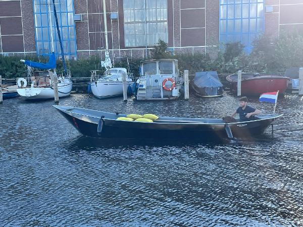 Sloep grachtenboot 6.40 meter