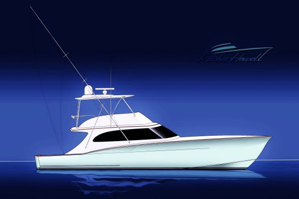 Ritchie Howell Custom Carolina Sportfish 54 Profile