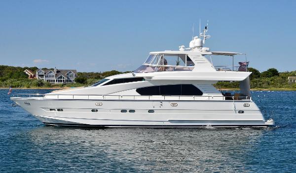 Horizon 70 Motor Yacht Port Side