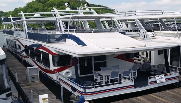 Sharpe 20' x 112' House Boat
