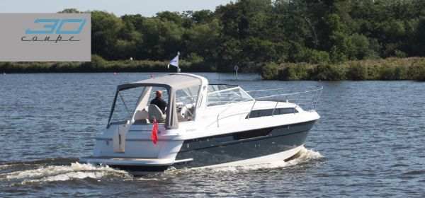 Broom 30 Coupe Stern