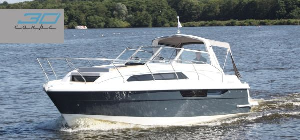 Broom 30 Coupe Manufacturer Provided Image: Broom 30 Coupe Bow