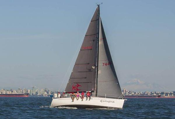 Beneteau First 36.7 to weather
