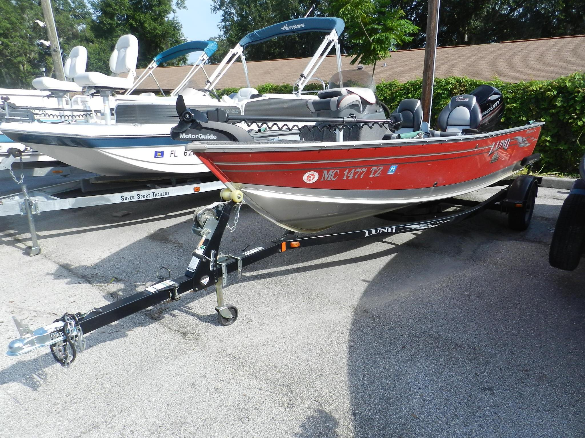 Owned 2015 Lund 1650 Rebel Xl Side Console Thayers Marine