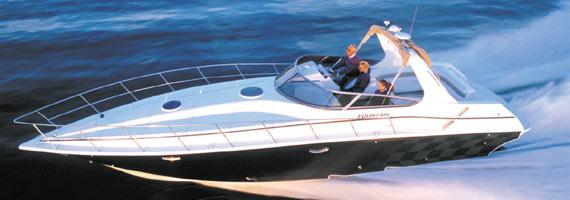 Fountain 38 Express Cruiser Manufacturer Provided Image