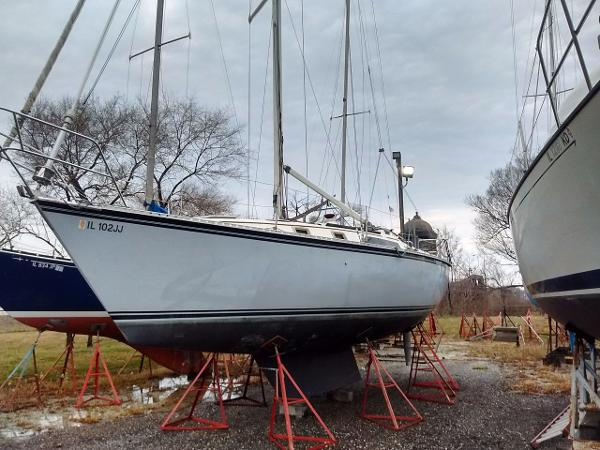 Hunter Sloop 34
