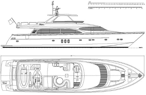 Profile and Flybridge
