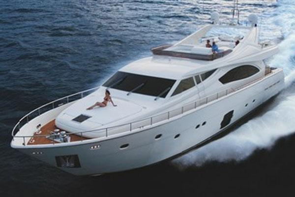 Ferretti Yachts 881 Manufacturer Provided Image