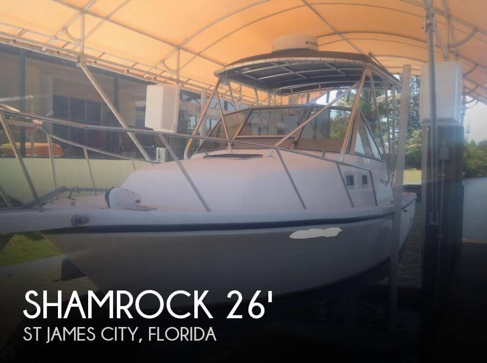 Shamrock 260 Express 2001 Shamrock 260 Express for sale in St James City, FL