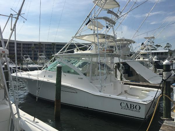 Cabo 40 Express Profile