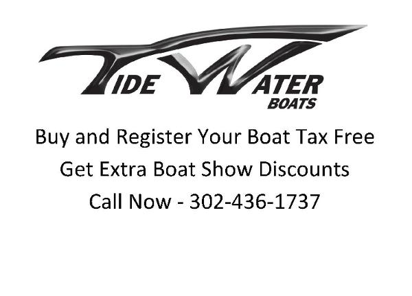 Tidewater Boats Buy Tax Free - Extra Discount