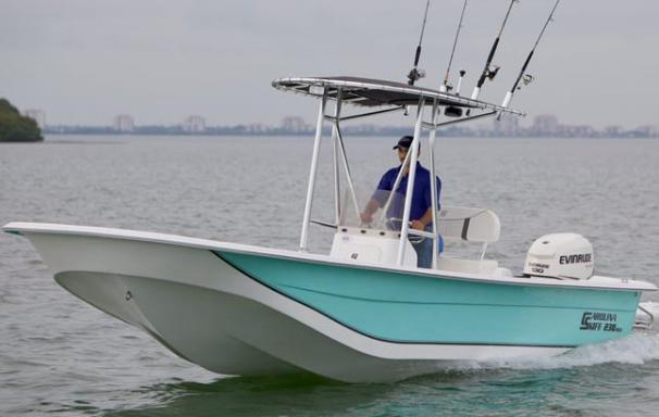 Carolina Skiff 238 DLV Manufacturer Provided Image
