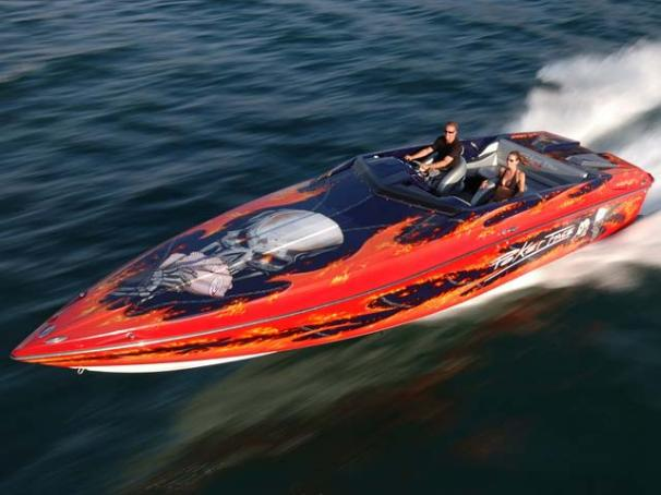 Baja 35 Outlaw Poker Run Edition Manufacturer Provided Image