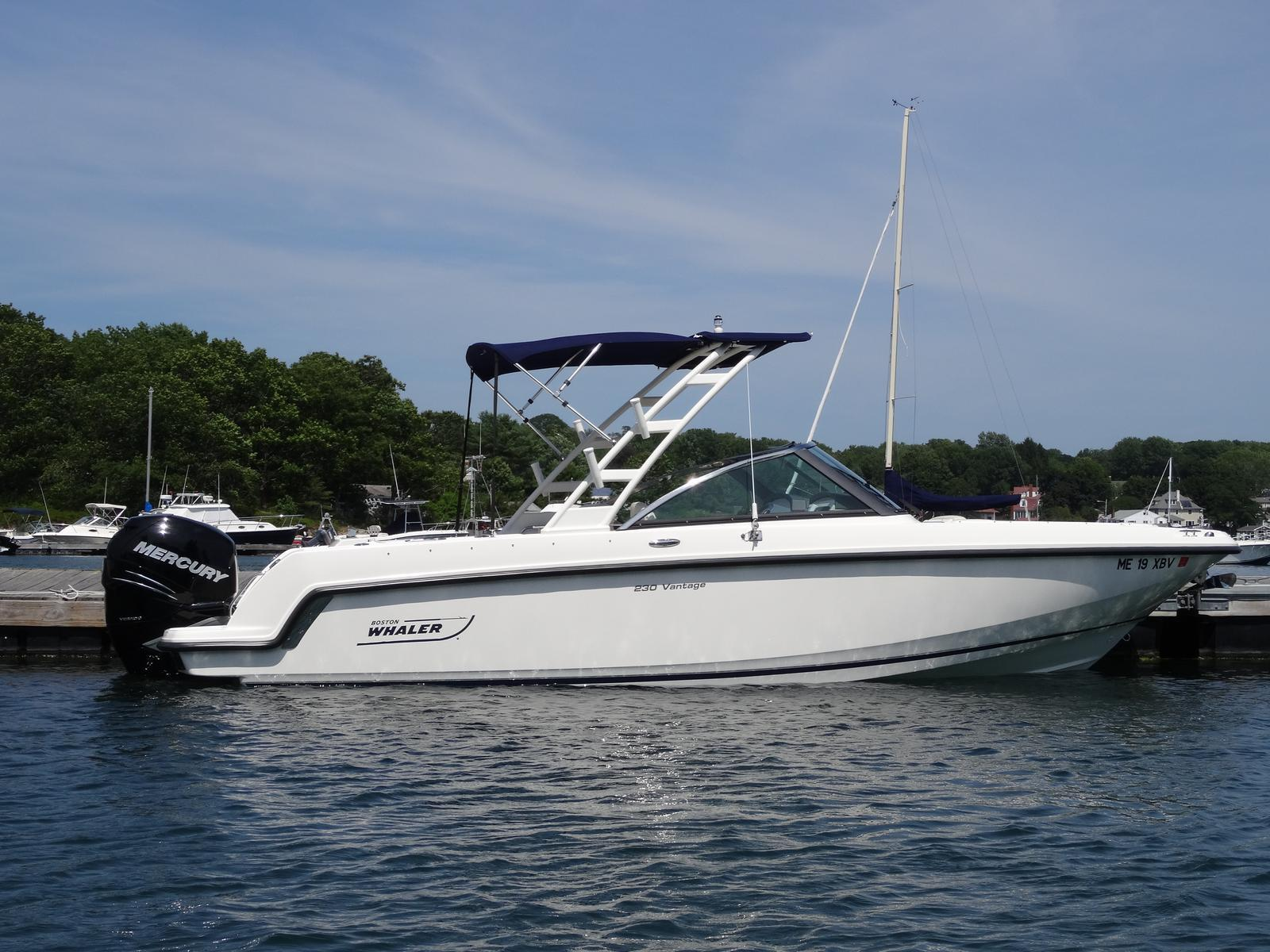 Used boston whaler boats for sale in maine united states for Motor yachts for sale near me