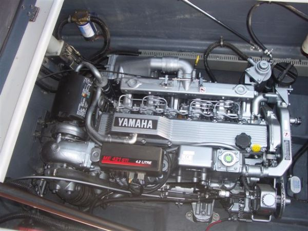 six cylinder in line diesel