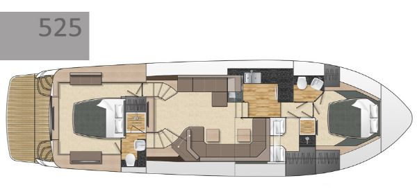 Broom 525 Interior Layout