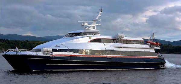 Custom Fast Catamaran Passenger Ferry