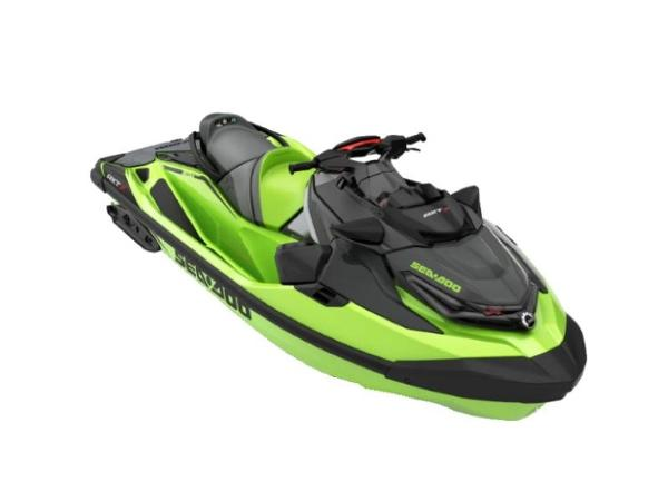 Sea-Doo RXT®-X® 300 IBR & Sound System California Green and Black