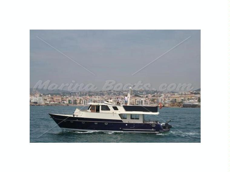 Transpacific Marine Eagle 53 Pilothouse