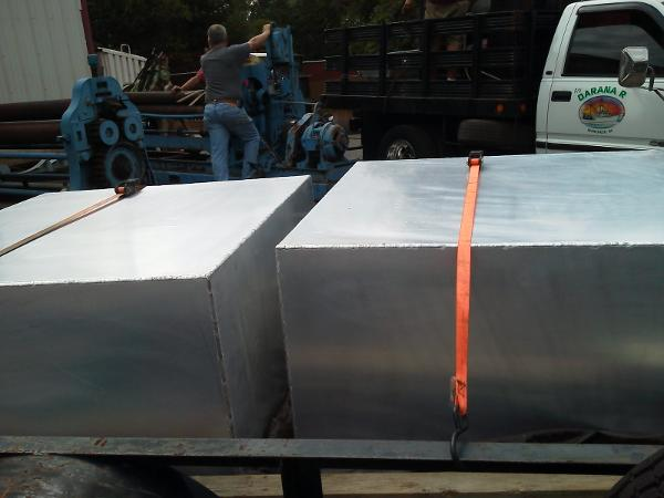 New Aluminum Fuel Tanks