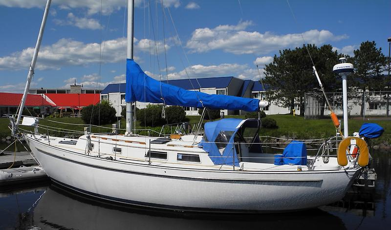 Hinterhoeller Niagara 35 Hinterholer Niagra 35 Port Stern.JPG