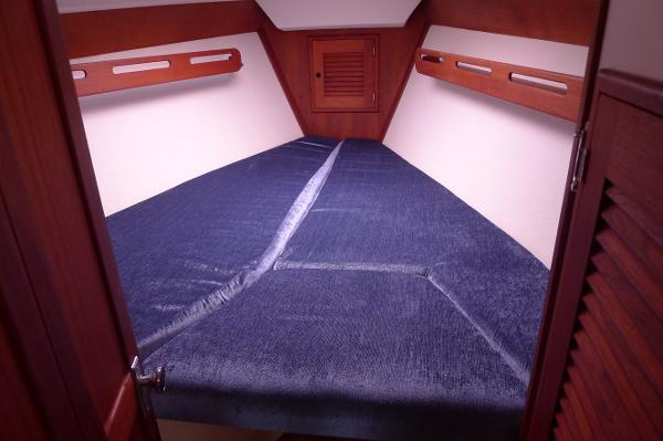 Forward Stateroom with new Cushions