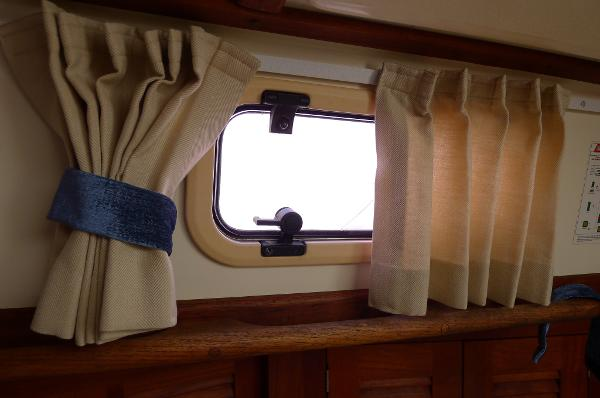 New Curtains by Custome Marine Canvas