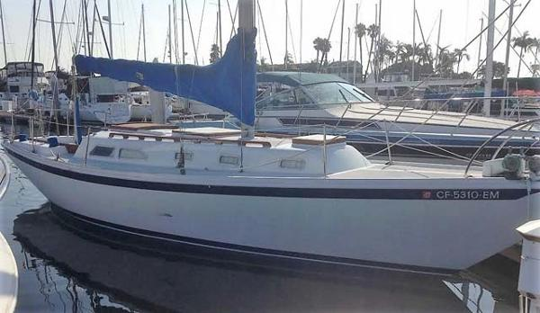 Ericson 35 Docked