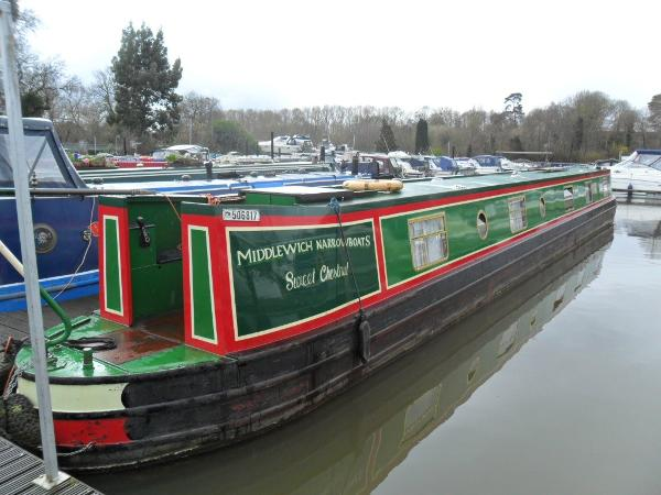 Narrowboat 65' Semi - Traditional Stern Stbd Side