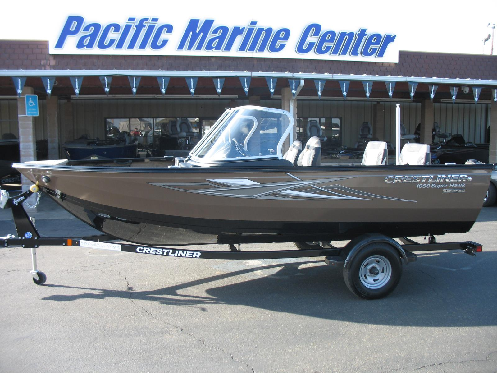 Crestliner 1650 Super Hawk-Mercury 115hp