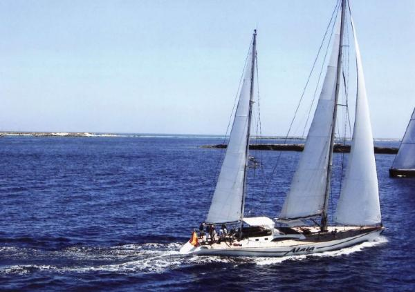 One Design Trehard 27m. Ketch