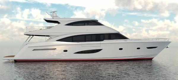 Viking 93 Motor Yacht Starboard Side