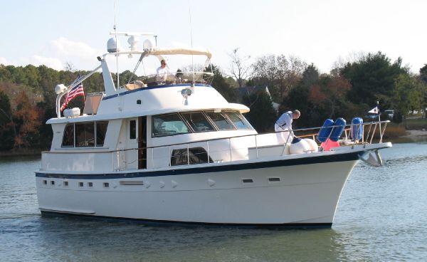Hatteras 53 ED Motor Yacht (Stabilized)